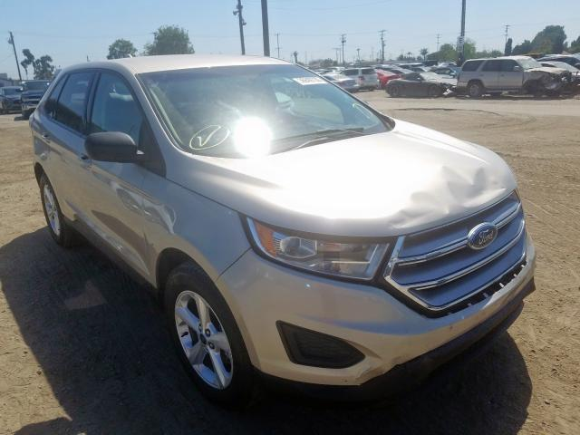 Ford Edge SE salvage cars for sale: 2018 Ford Edge SE