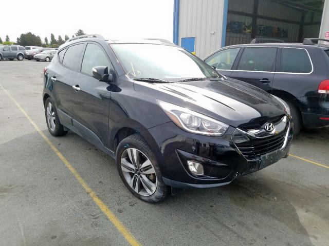 Hyundai Tucson Limited salvage cars for sale: 2015 Hyundai Tucson Limited