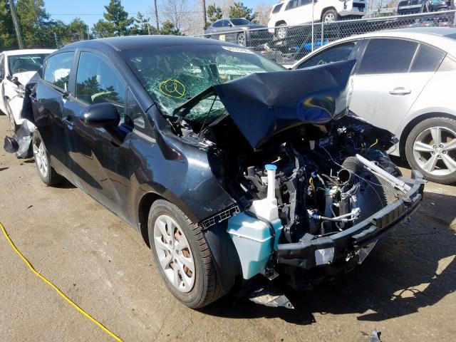 KIA Rio LX salvage cars for sale: 2014 KIA Rio LX
