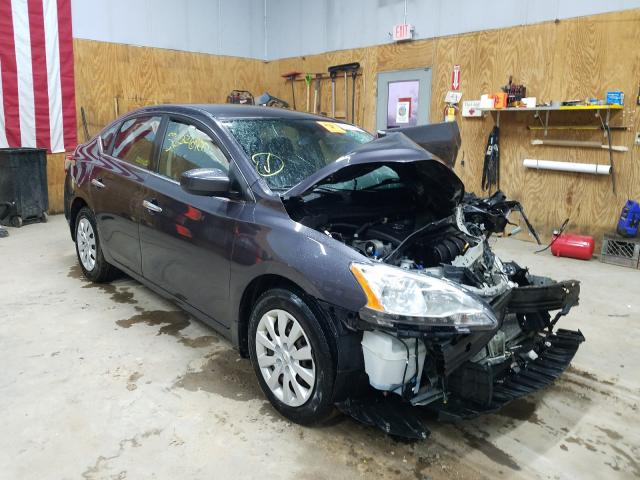 Salvage cars for sale from Copart Kincheloe, MI: 2013 Nissan Sentra S