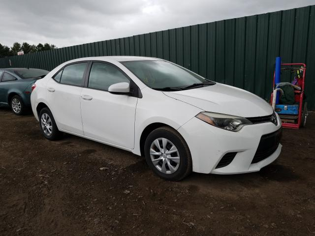 Salvage cars for sale from Copart Finksburg, MD: 2014 Toyota Corolla L