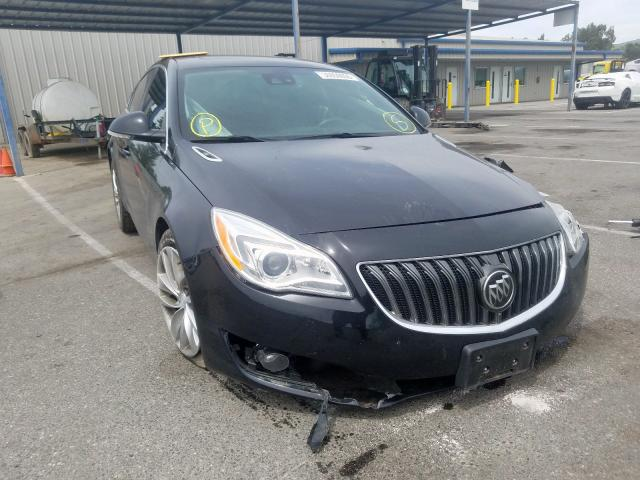 Buick salvage cars for sale: 2017 Buick Regal Premium