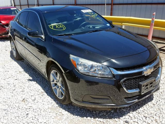 Salvage cars for sale from Copart Haslet, TX: 2015 Chevrolet Malibu 1LT