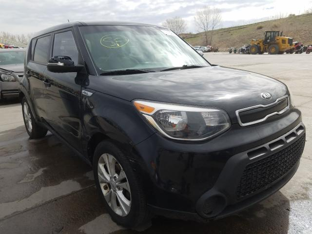 KIA salvage cars for sale: 2014 KIA Soul +