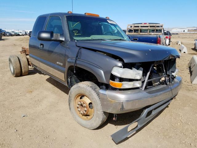 Chevrolet salvage cars for sale: 2002 Chevrolet Silverado