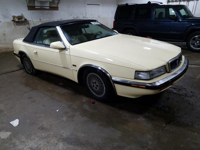 Chrysler TC BY Mase salvage cars for sale: 1989 Chrysler TC BY Mase