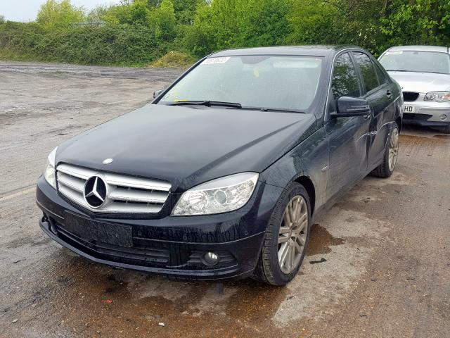 MERCEDES BENZ C180 BLUE- - 2010 rok