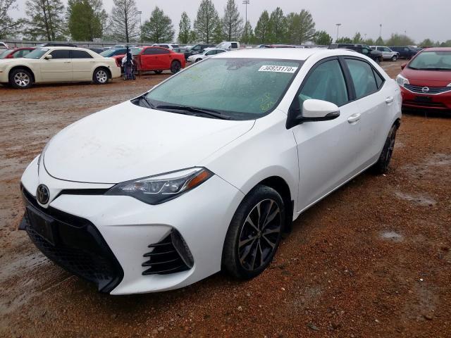 из сша 2018 Toyota Corolla L 1.8L 5YFBURHE2JP764697