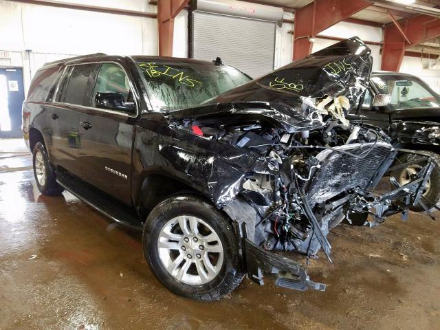 salvage title 2018 chevrolet suburban 5 3l for sale in lansing mi 36747020 a better bid car auctions