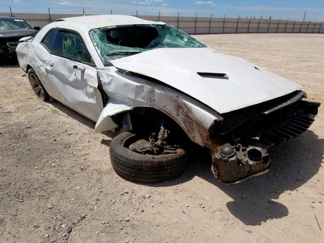 Salvage cars for sale from Copart Andrews, TX: 2019 Dodge Challenger