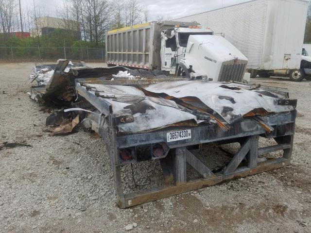 Salvage cars for sale from Copart Columbus, OH: 2017 Vanguard Trailer