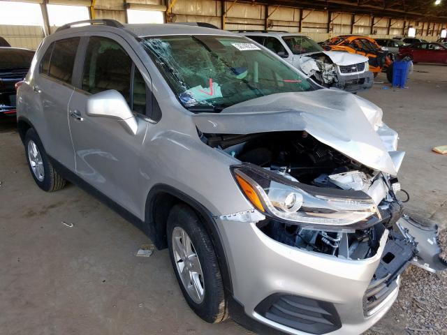Chevrolet Trax 1LT salvage cars for sale: 2020 Chevrolet Trax 1LT