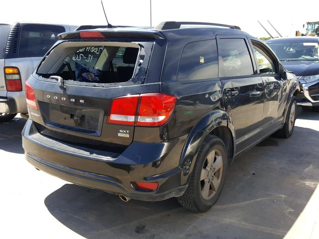 2012 DODGE JOURNEY SX - Right Rear View