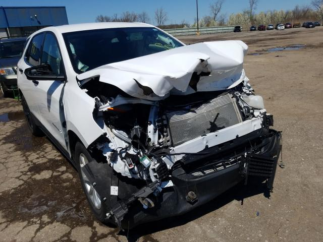 Salvage cars for sale from Copart Woodhaven, MI: 2018 Chevrolet Equinox LT