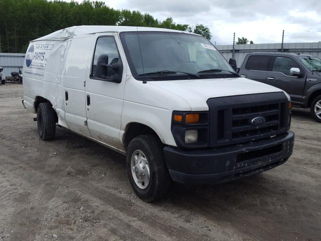 Salvage cars for sale from Copart Hampton, VA: 2010 Ford Econoline