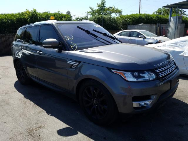 Land Rover Range Rover salvage cars for sale: 2016 Land Rover Range Rover