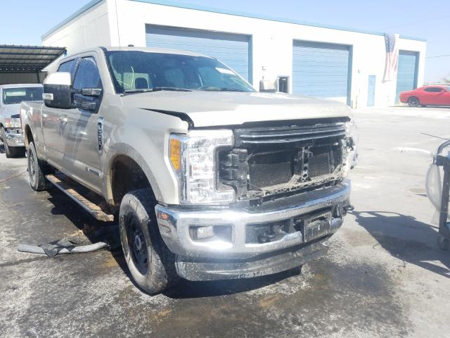 Salvage cars for sale from Copart Anthony, TX: 2017 Ford F350 Super