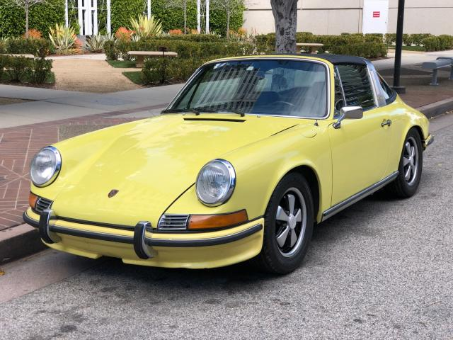 Porsche salvage cars for sale: 1970 Porsche 911 Targa