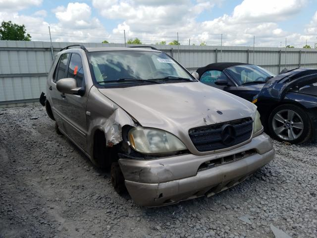 Mercedes-Benz ML 320 salvage cars for sale: 2001 Mercedes-Benz ML 320