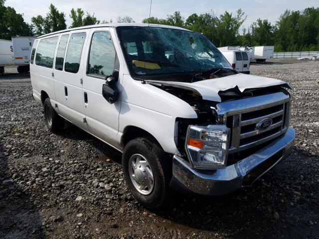 Salvage cars for sale from Copart Spartanburg, SC: 2014 Ford Econoline