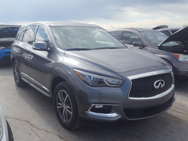Salvage 2020 Infiniti QX60 LUXE for sale