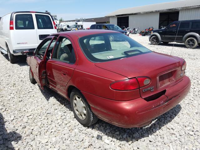 salvage title 1996 ford contour sedan 4d 2 0l for sale in louisville ky 36934690 a better bid car auctions