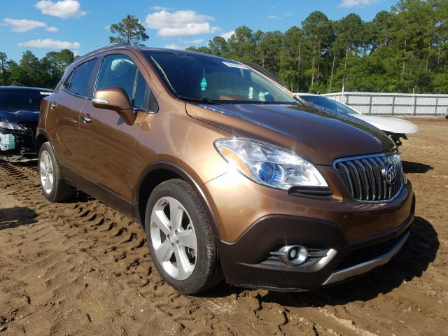 Buick Encore salvage cars for sale: 2016 Buick Encore