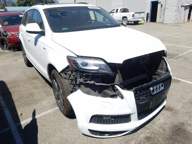 Audi Q7 Prestige salvage cars for sale: 2015 Audi Q7 Prestige