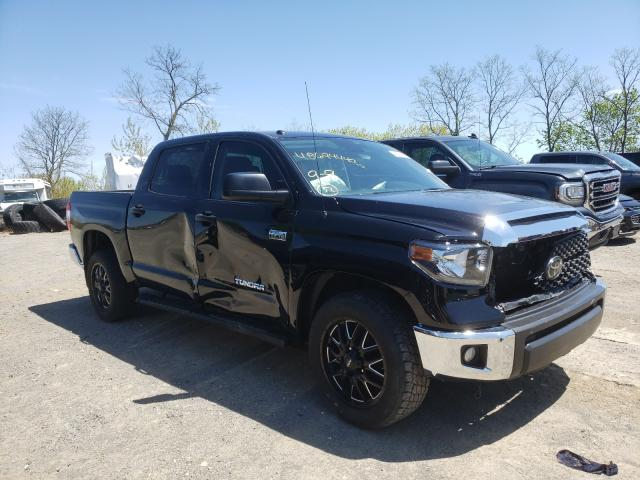 Salvage cars for sale from Copart Marlboro, NY: 2019 Toyota Tundra CRE