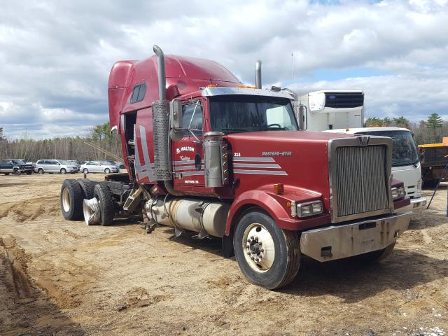 Western Star salvage cars for sale: 2001 Western Star Convention