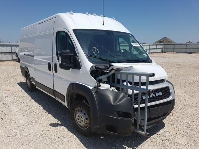 Salvage cars for sale from Copart Haslet, TX: 2019 Dodge RAM Promaster