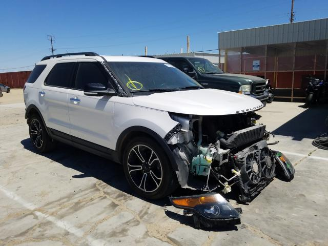 Ford Explorer S salvage cars for sale: 2014 Ford Explorer S