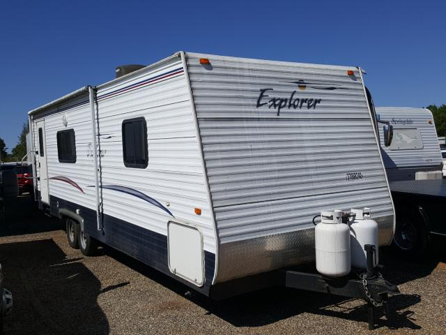 Explorer Travel Trailer salvage cars for sale: 2006 Explorer Travel Trailer