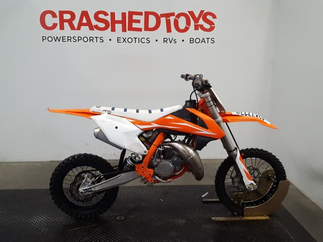 KTM salvage cars for sale: 2018 KTM 85 SX