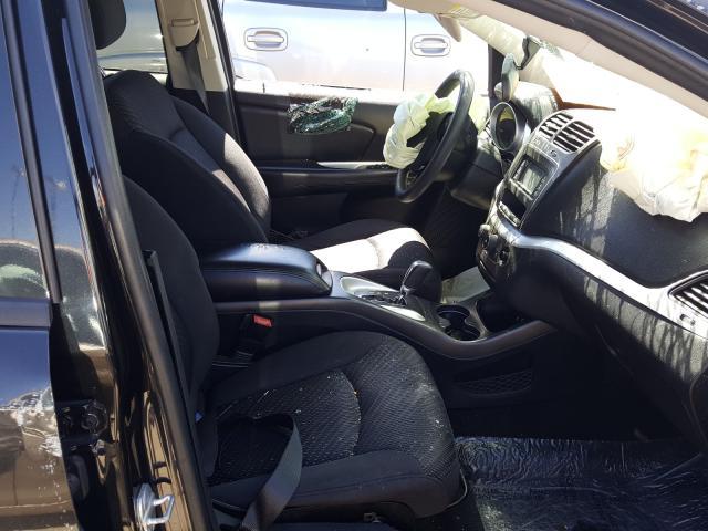 2012 DODGE JOURNEY SX - Left Rear View
