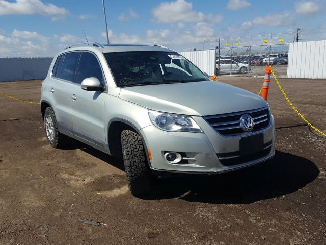 Salvage cars for sale from Copart Brighton, CO: 2011 Volkswagen Tiguan S