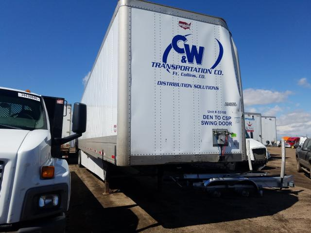 Wabash salvage cars for sale: 2018 Wabash DVH