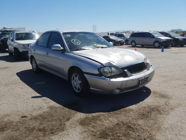 KIA Spectra BA salvage cars for sale: 2004 KIA Spectra BA