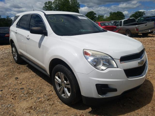 Chevrolet Equinox LS salvage cars for sale: 2010 Chevrolet Equinox LS