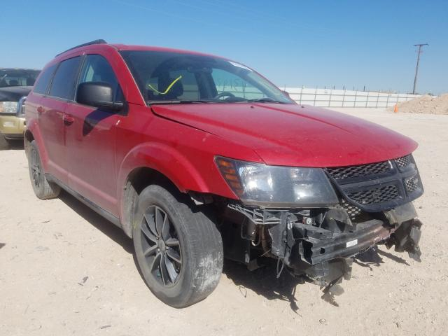Salvage cars for sale from Copart Andrews, TX: 2018 Dodge Journey SE