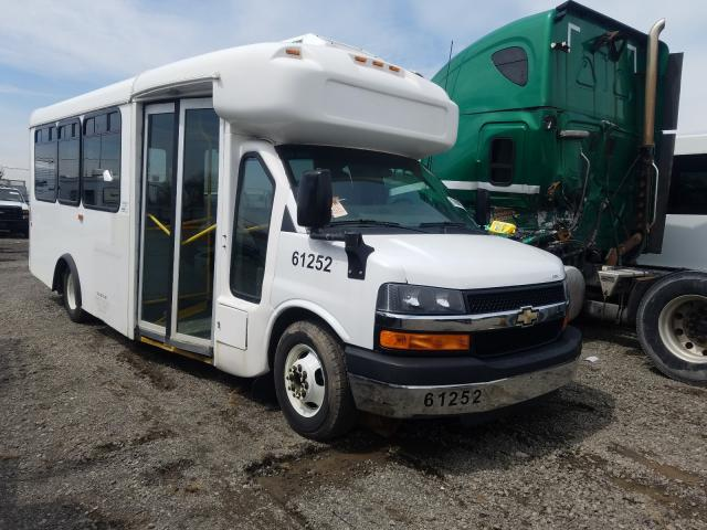 Chevrolet Express G4 salvage cars for sale: 2014 Chevrolet Express G4