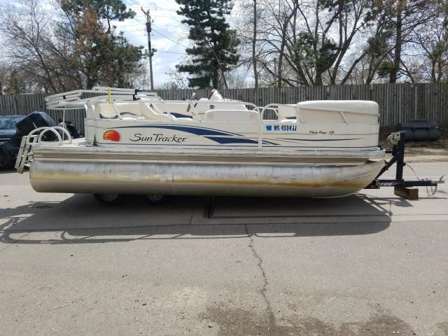 Suntracker Boat salvage cars for sale: 2008 Suntracker Boat