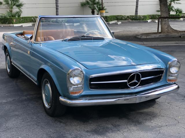 Mercedes-Benz 280SL salvage cars for sale: 1968 Mercedes-Benz 280SL