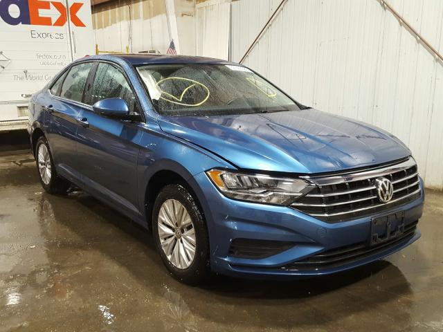 Volkswagen salvage cars for sale: 2019 Volkswagen Jetta S