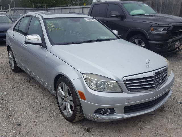 Mercedes-Benz C300 salvage cars for sale: 2009 Mercedes-Benz C300