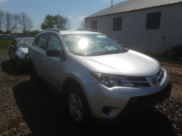 Salvage cars for sale from Copart Hillsborough, NJ: 2014 Toyota Rav4 LE