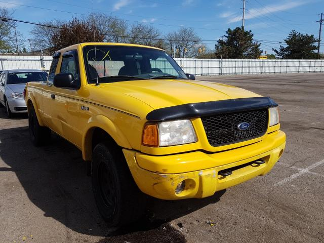 Ford Ranger SUP salvage cars for sale: 2001 Ford Ranger SUP