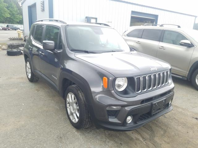 Salvage cars for sale from Copart Shreveport, LA: 2020 Jeep Renegade L