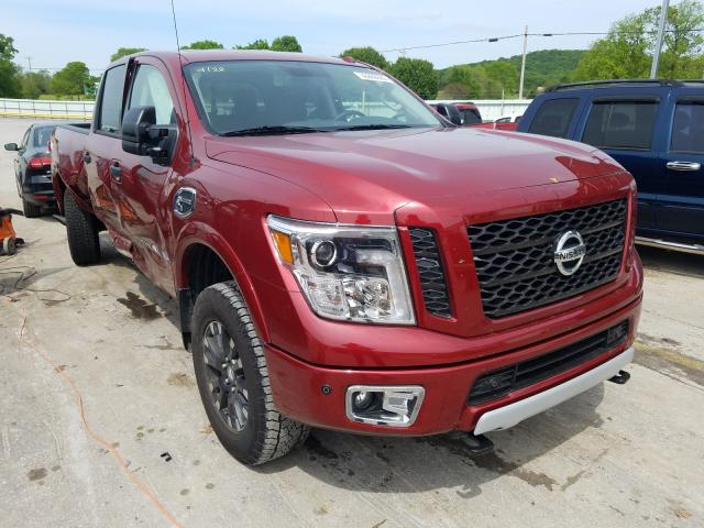 Nissan Titan XD S salvage cars for sale: 2019 Nissan Titan XD S