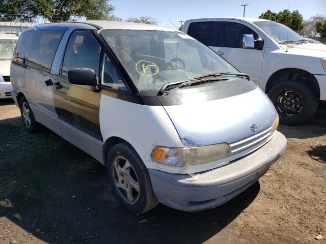 Toyota Previa LE salvage cars for sale: 1994 Toyota Previa LE